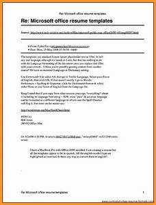 microsoft publisher resume templates bio letter format With free office resume templates