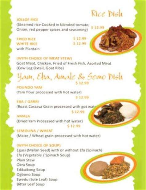 cuisine menu list menu list picture of cuisine by folaf las