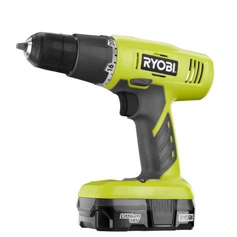 ryobi  volt  lithium ion starter drill kit p