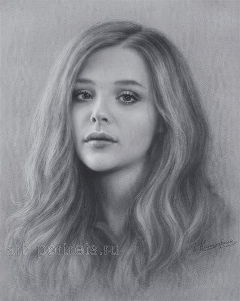 beautiful realistic portraits  igor kazarin young drawings