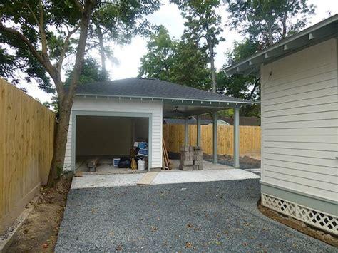 nadinehouston   home  harcom backyard garage carport  storage