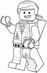 Coloring Lego Pages sketch template