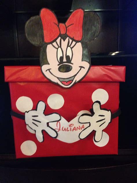 minnie mouse valentine box valentine day boxes