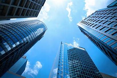 Business Technology Buildings Clouds Start Automation