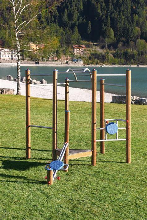 Klettergerüst Holzhof «trim Dich» Klettersystem