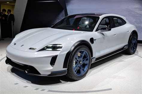 porsche mission e wheels porsche mission e cross turismo unveiled at geneva 2018