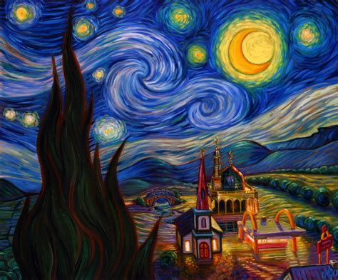 vincent gogh artwork painting of vincent gogh moon wallpapers and images