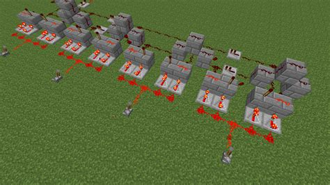 Minecraft How Create Redstone Circuit Whose