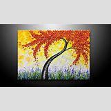 Yellow Flower Painting | 1280 x 720 jpeg 196kB