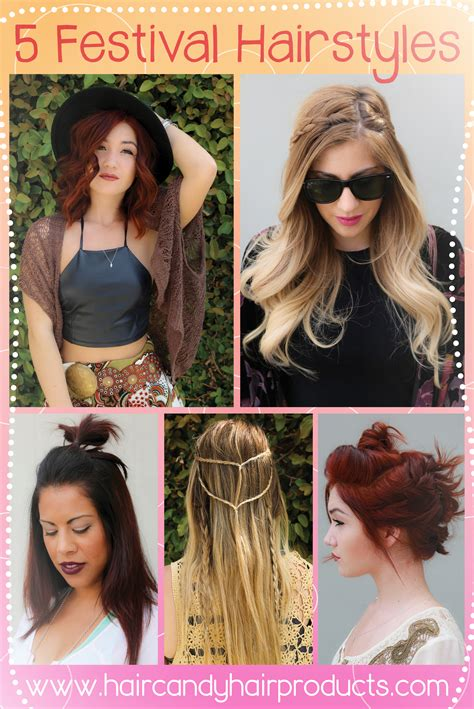 Festival Hair Inspiration Hair Candy Products