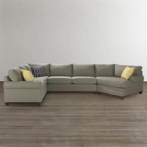 15 best ideas bassett cuddler sectional sofa ideas With bassett sectional sofa with chaise