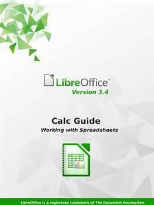 Libre Office Calc Guide