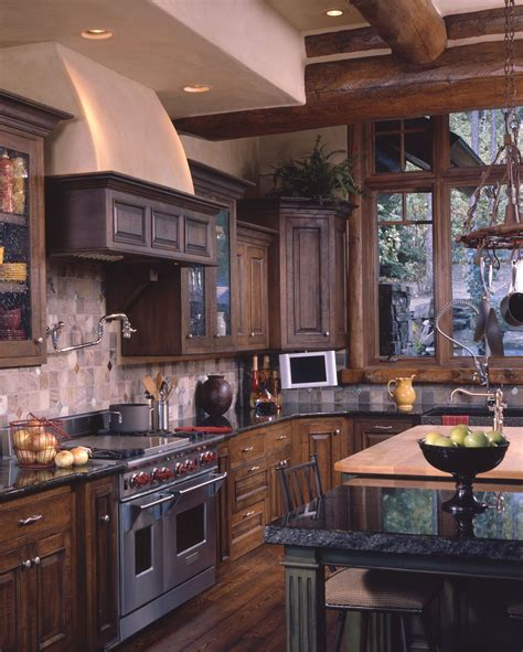 home kitchen designs ideas the 25 best log home kitchens ideas on log 4297