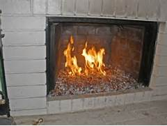 Fireplaces With Glass Rocks Com How Not To Do It Fireplace Glass Fire Glass Fire Pit Glass