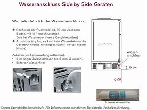 Side By Side Mit Eiswürfelbereiter : lg gsl 325 pvcv side by side k hlschrank k hl gefrier ~ Michelbontemps.com Haus und Dekorationen