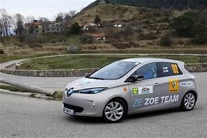 Autonomie Réelle Zoe : automobile propre au volant de la renault zo ze 40 au e rallye de monte carlo ~ Medecine-chirurgie-esthetiques.com Avis de Voitures