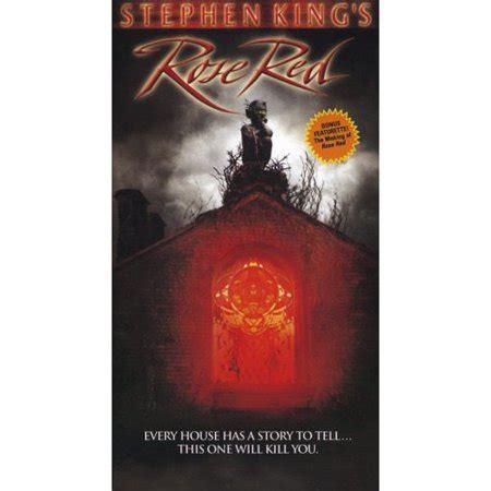 stephen king rose red  horror vintage vhs box set