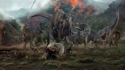 Jurassic Fallen Kingdom Wallpapers 4k Key Movies