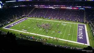 Vikings Stadium Seating Chart With Seat Numbers U S Bank Stadium Section 338 Minnesota Vikings
