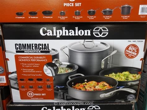 calphalon pc commercial hard anodized cookware set
