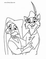 Robin Hood Coloring Pages Marian Maid Disney Disneyclips Lady Printables Funstuff John Christmas Adult Drawings Prince Sheets sketch template