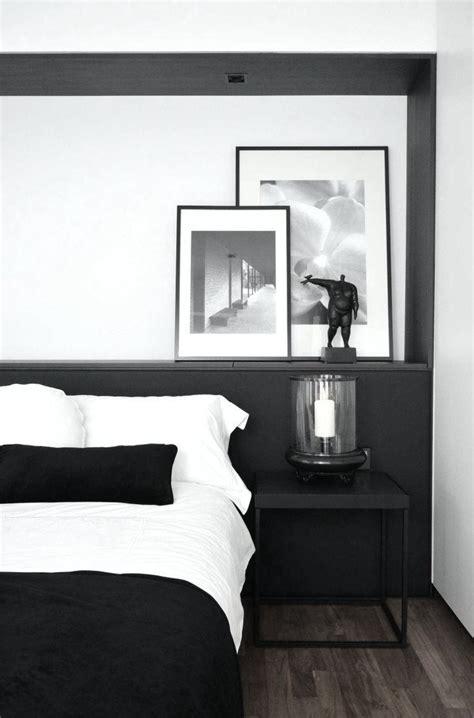 chambre noir et blanc design noir et blanc 15 idées déco pour un look scandinave très