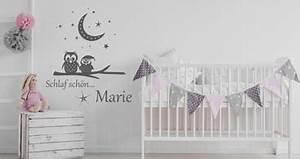 Mädchen Zimmer Baby : wandtattoo baby sch ne wandtattoos f r babys mit name im babyzimmer ~ Markanthonyermac.com Haus und Dekorationen