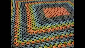 The Rectangle Granny Blanket Crochet Tutorial    U0026 How To