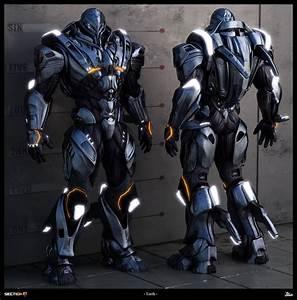 The Gallery For Gt Futuristic Body Armor Concept Art