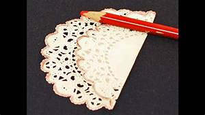 Easy DIY Paper doilies crafts ideas - YouTube