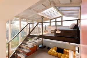 one bedroom cottage plans home design a loft with glass ceiling