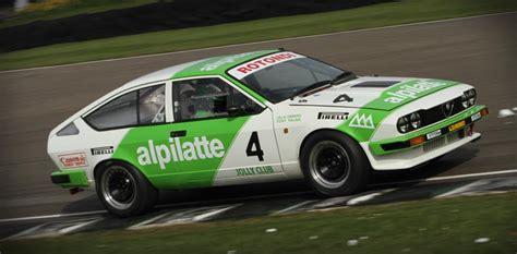alfa romeo gtv goodwood gerry marshal trophy car