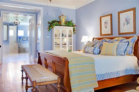 Yellow Bedroom Walls Meaning by Country Master Suite
