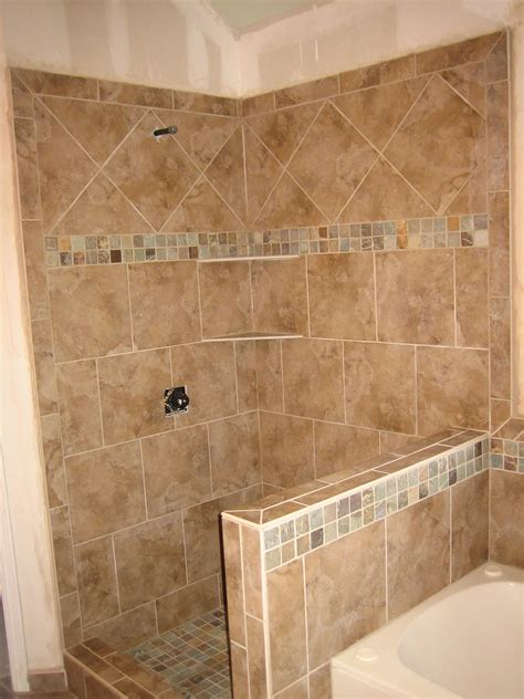 tile designs for bathroom walls shower pony wall tub surround 9 2008 rk tile and