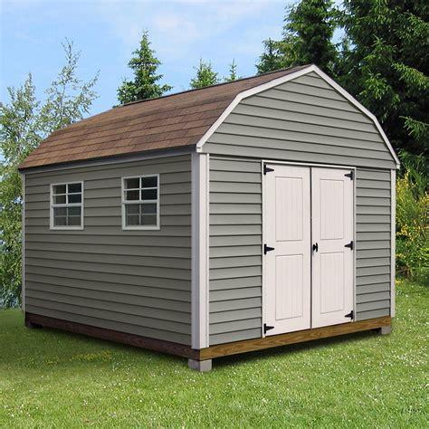 kmart metal storage sheds quality outdoor structures v0812sb vinyl barn 8 ft x 12