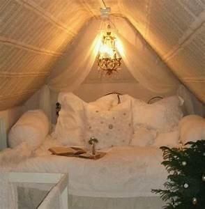 Moderne Dach Einrichtungsideen für kleines Schlafzimmer