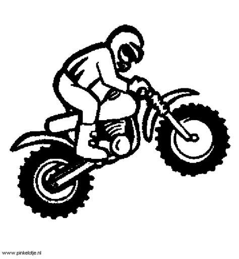 Kleurplaat Crossmotors by Crossmotor