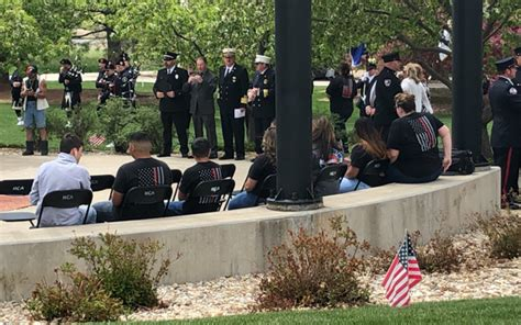 colorado fallen firefighters remembrance ceremony fire