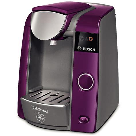 Purple Nespresso Machine by Bosch Tassimo T43 Drinks Coffee Machine