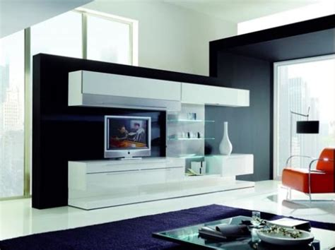 Here you will find photos of interior design ideas. Living Room Decoration with Modern Wall Unit, Boss by ...
