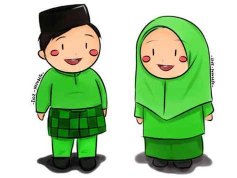 Wanita Dewasa Dalam Islam Kumpulan Gambar Kartun Lucu Berpasangan
