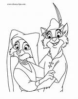 Robin Hood Coloring Pages Marian Maid Skippy Disney Disneyclips Lady Drawings Printables Template John Christmas Prince Funstuff Adult sketch template