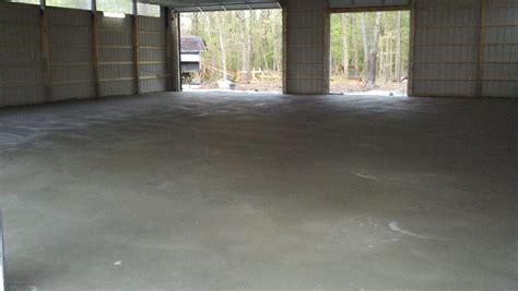 Pole Barn Concrete Floor Cost by Pole Barn Build Page 9 Ford Bronco Forum