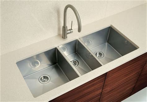 3 bowl kitchen sink undermount blanco precision undermount 16 quot r10 bowl sink 7311