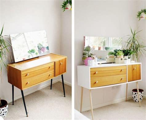 secretaire moderne bureau relooker un meuble ancien avec de la peinture idées supers