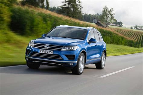 Fuel Efficient V6 Cars by 2015 Vw Touareg Facelift Receives A More Powerful Yet