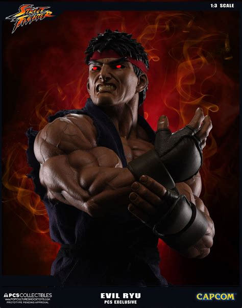 Street Fighter V Ryu Statues Toy Discussion At