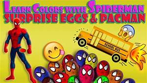 Learn Colors For Children Baby and Toddlers with Spiderman ...