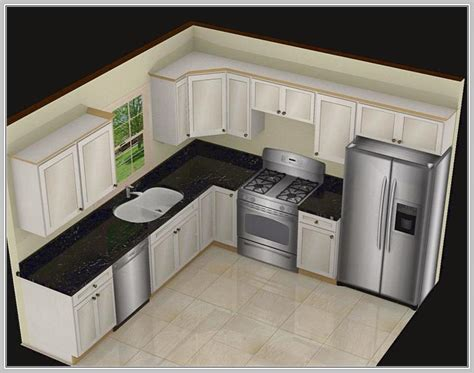 10×10 L Shaped Kitchen Designs  Home Design Ideas