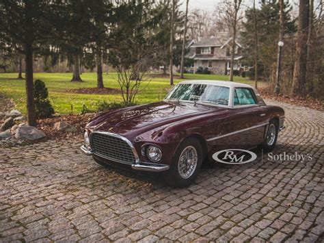 It's a big money ferrari and you can find out more about it here. 1954 Ferrari 375 America Coupe by Vignale For Sale by Auction   Car And Classic